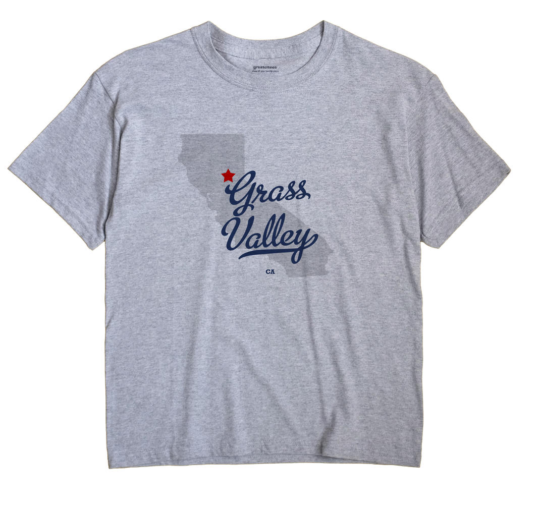 Grass Valley, California CA Souvenir Shirt