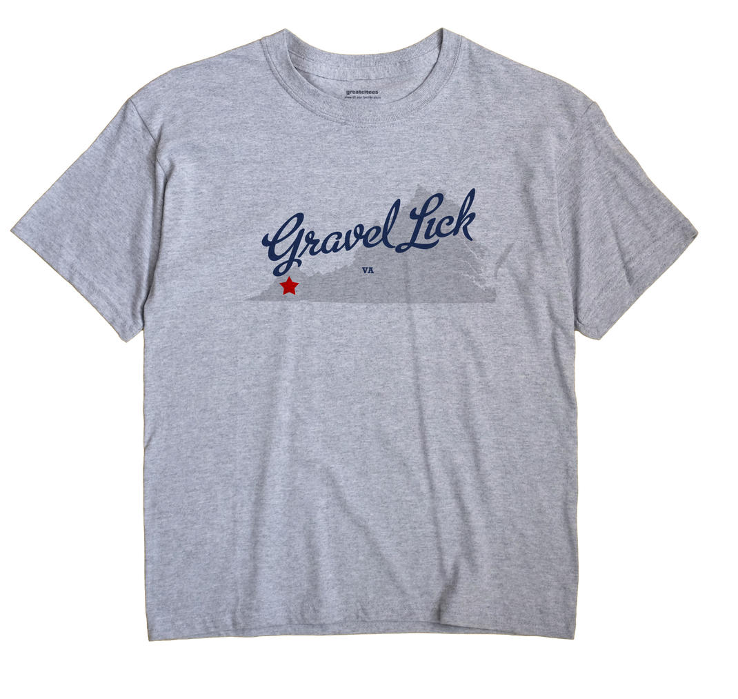 Gravel Lick, Virginia VA Souvenir Shirt