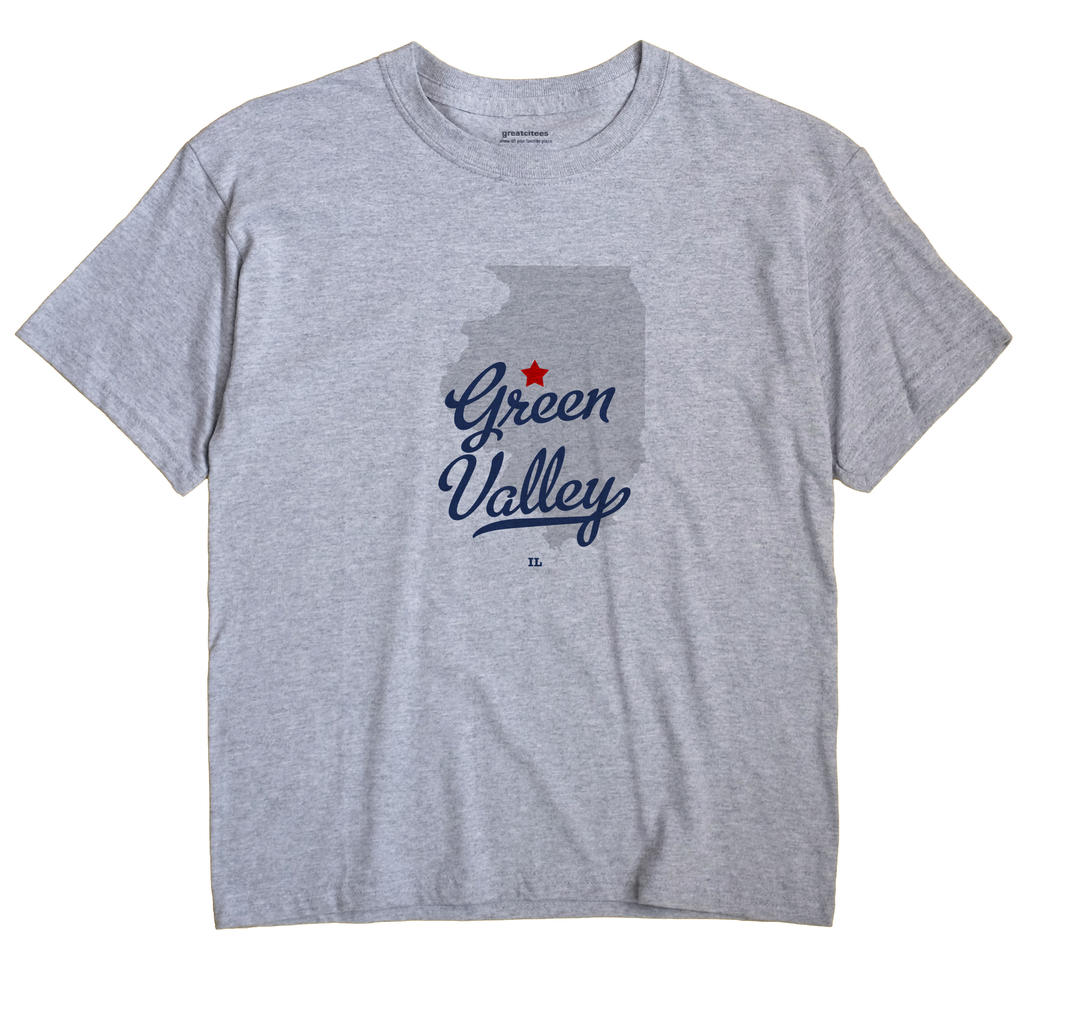 Green Valley, Illinois IL Souvenir Shirt