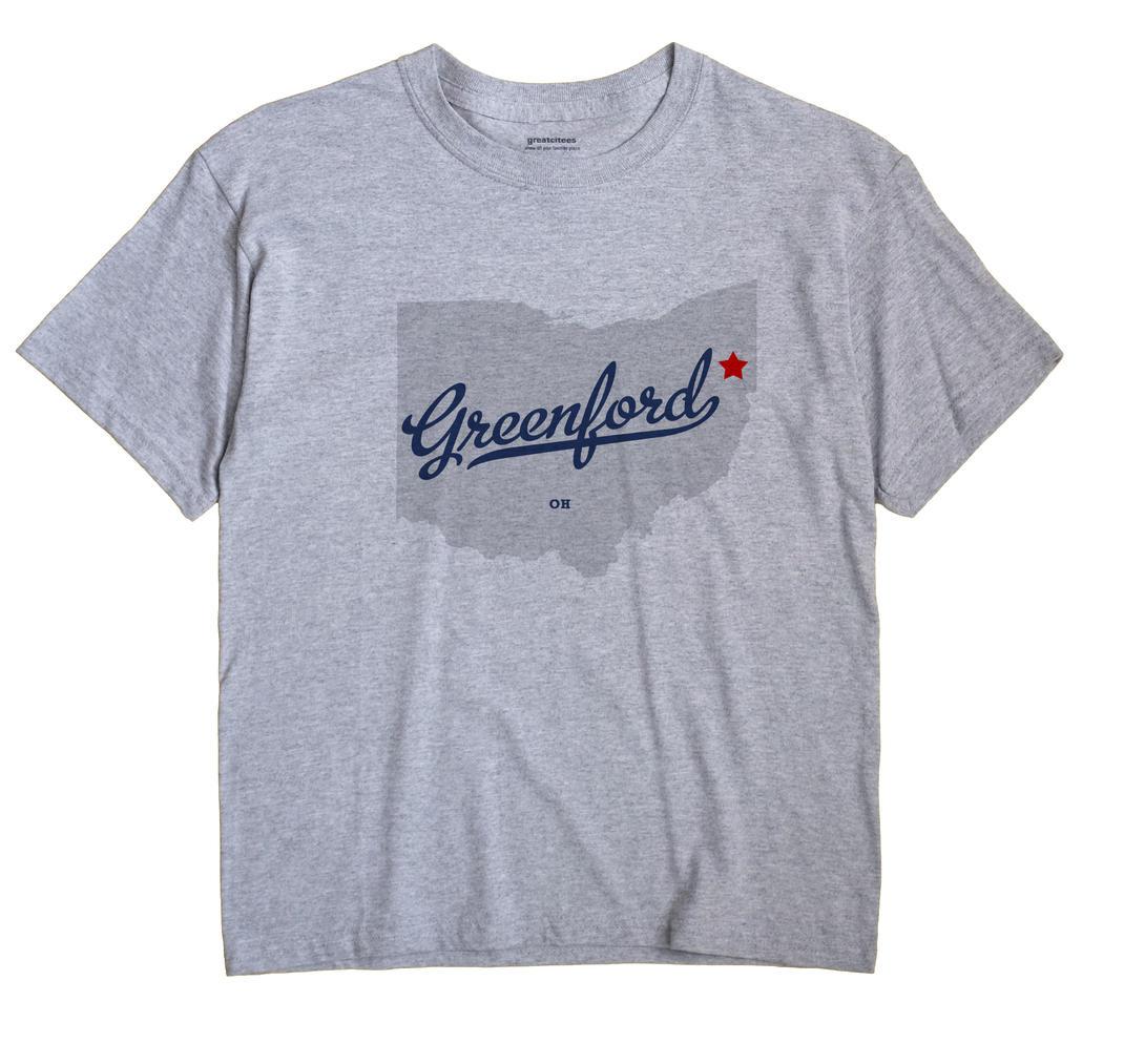 Greenford, Ohio OH Souvenir Shirt