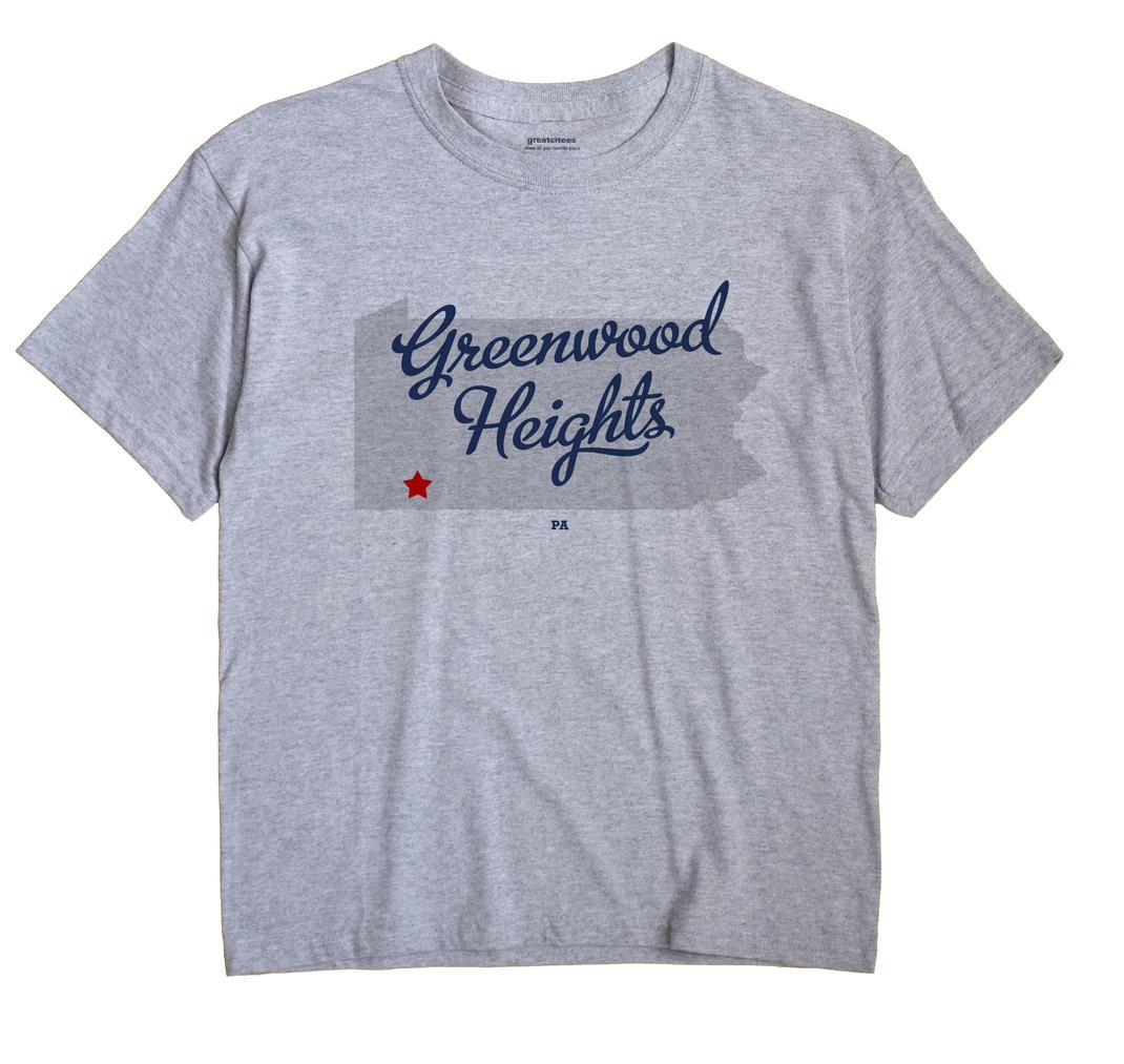 Greenwood Heights, Pennsylvania PA Souvenir Shirt
