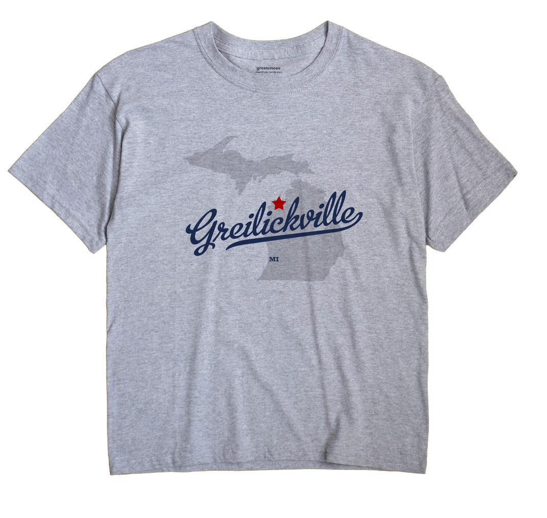 Greilickville, Michigan MI Souvenir Shirt