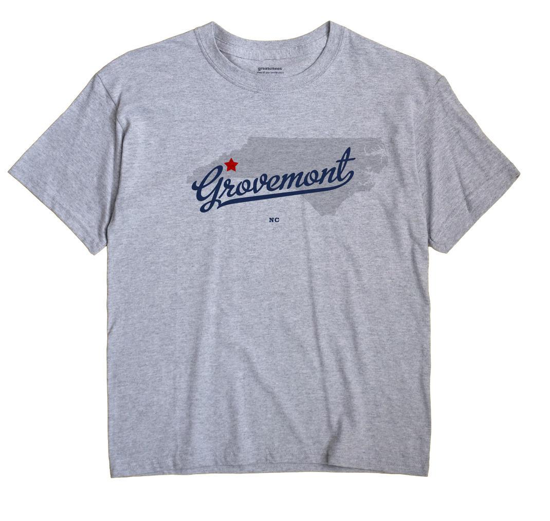 Grovemont, North Carolina NC Souvenir Shirt