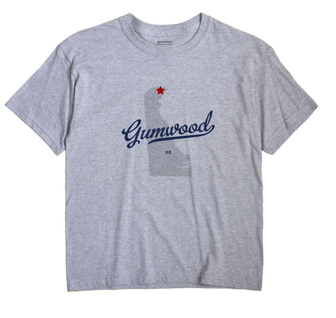 Gumwood, Delaware DE Souvenir Shirt