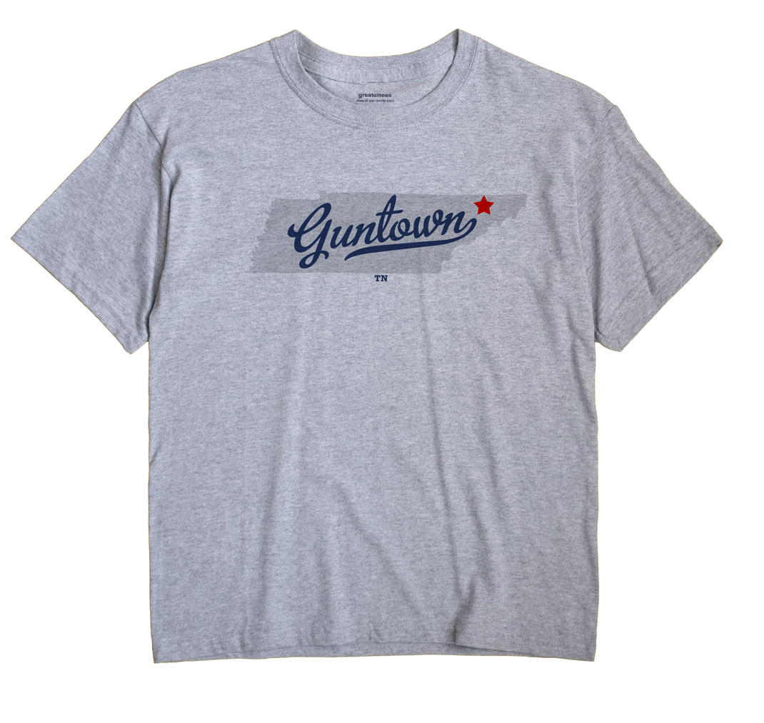 Guntown, Tennessee TN Souvenir Shirt