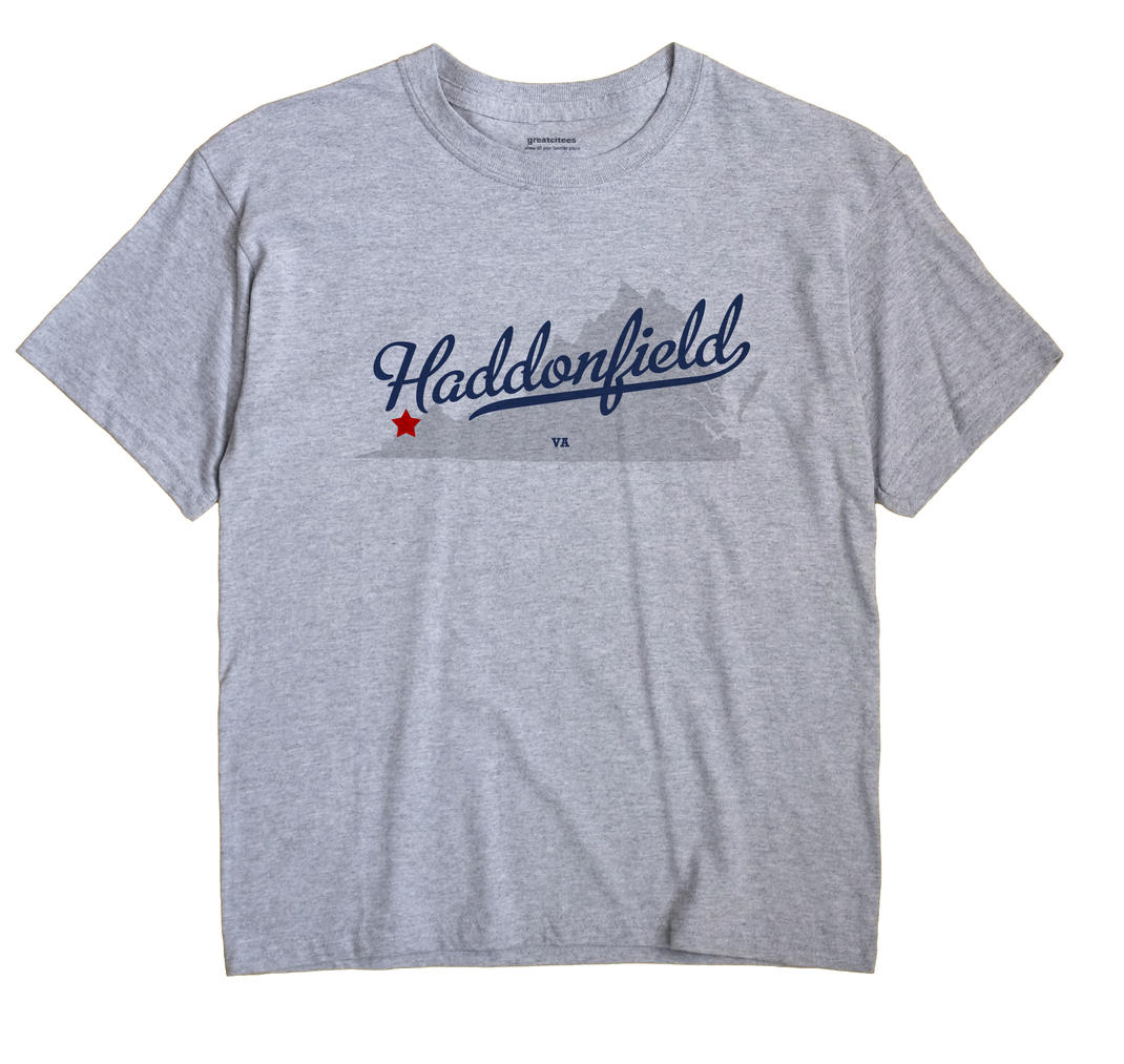 Haddonfield, Virginia VA Souvenir Shirt