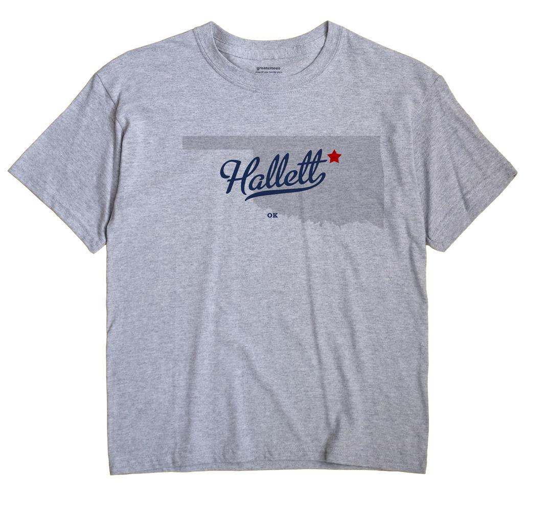 Hallett, Oklahoma OK Souvenir Shirt
