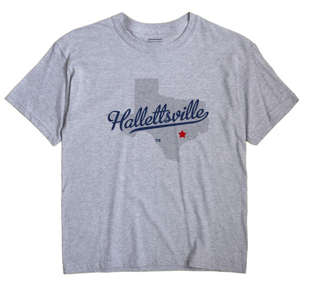 Hallettsville, Texas TX Souvenir Shirt