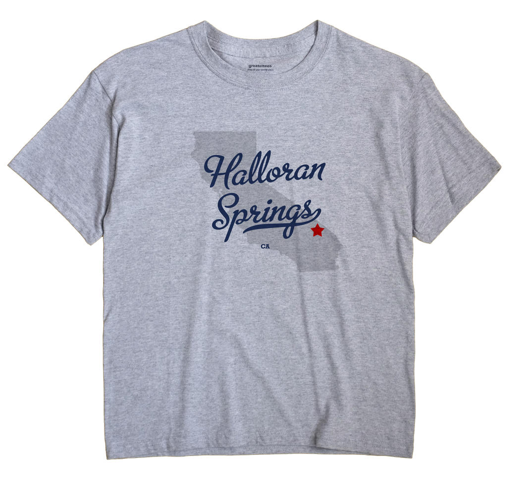 Halloran Springs, California CA Souvenir Shirt