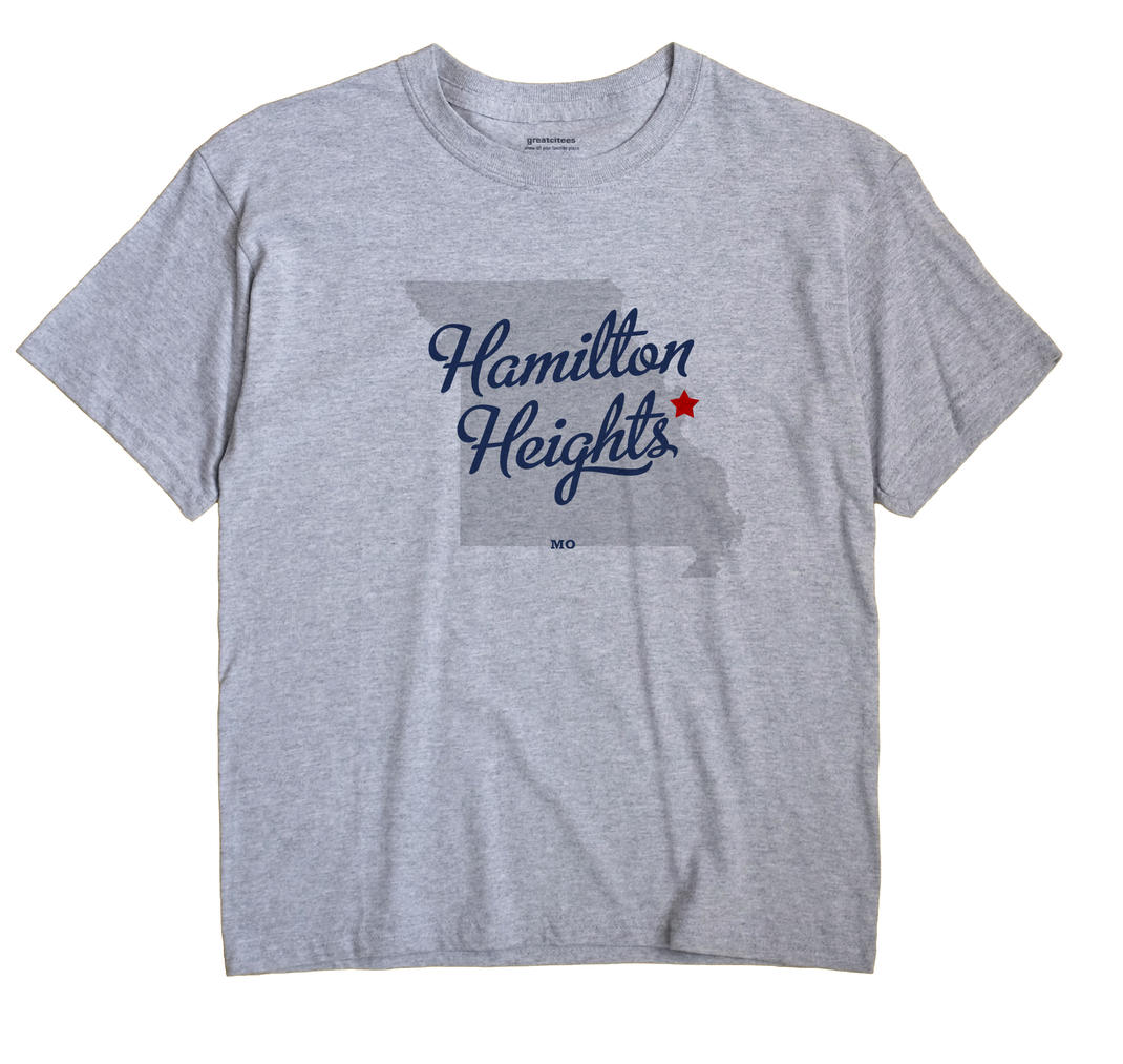 Hamilton Heights, Missouri MO Souvenir Shirt