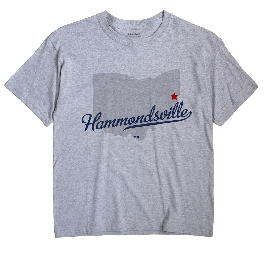 Hammondsville, Ohio OH Souvenir Shirt