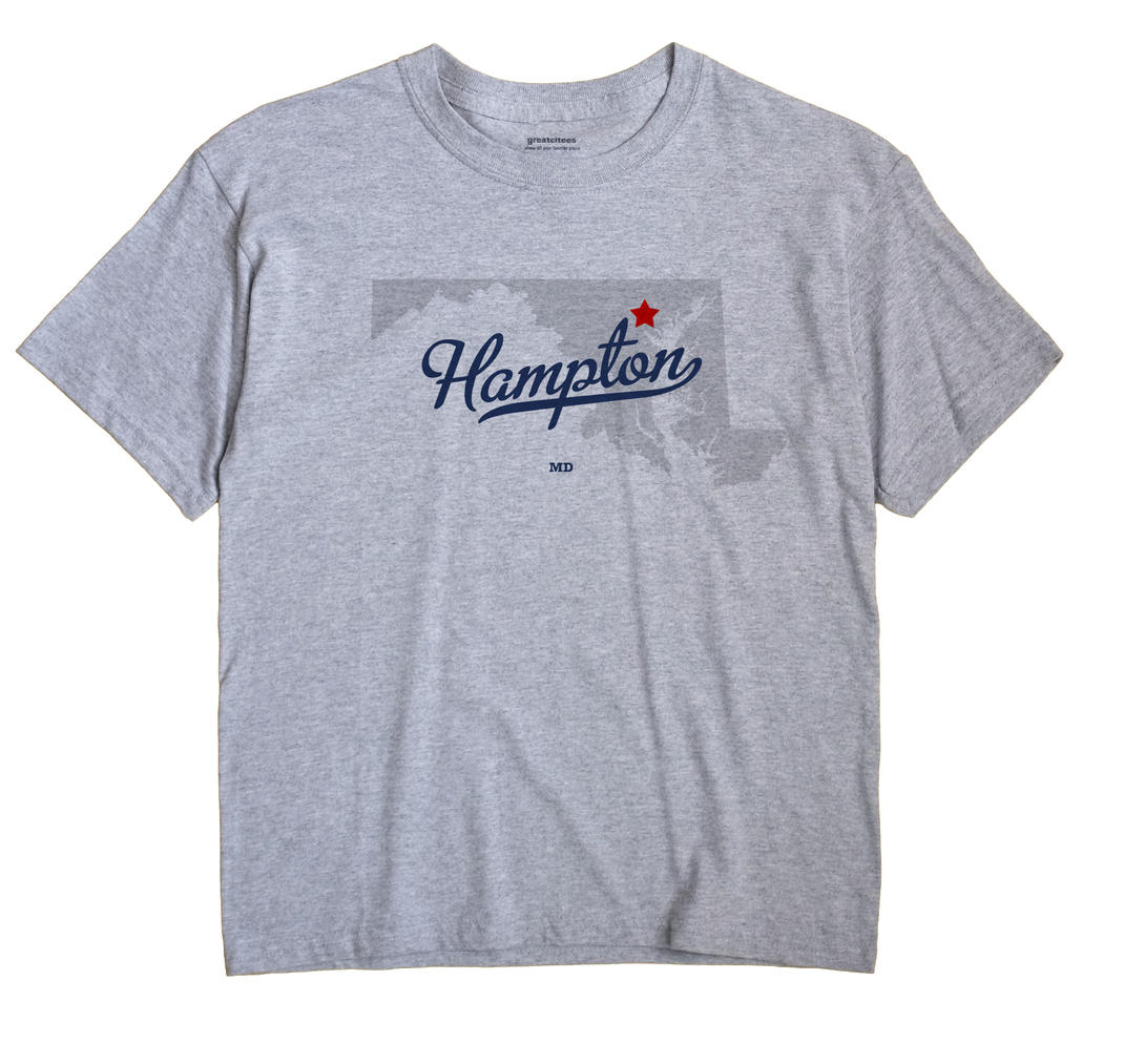 Hampton, Maryland MD Souvenir Shirt