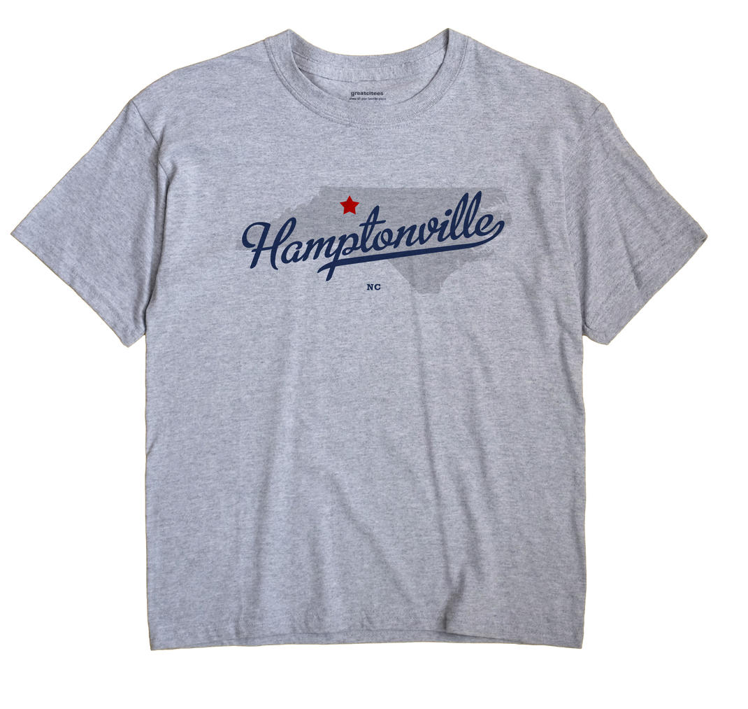 Hamptonville, North Carolina NC Souvenir Shirt