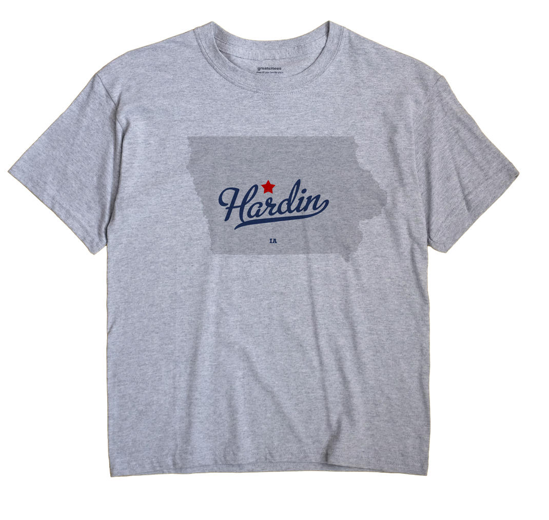 Hardin, Webster County, Iowa IA Souvenir Shirt