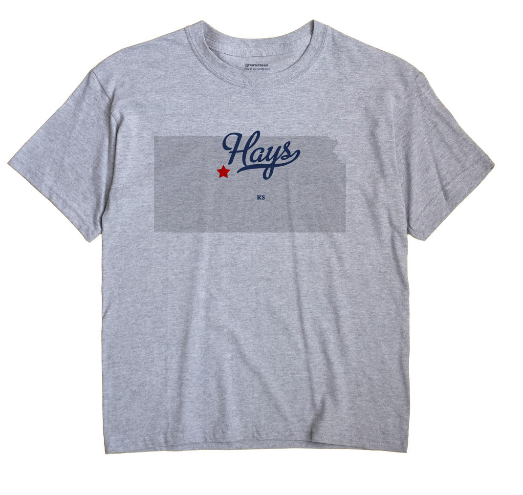 Hays, Kansas KS Souvenir Shirt