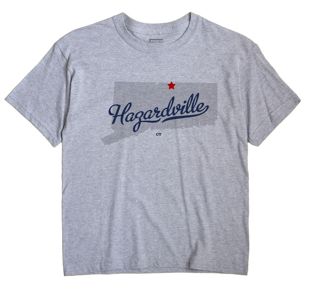 Hazardville, Connecticut CT Souvenir Shirt