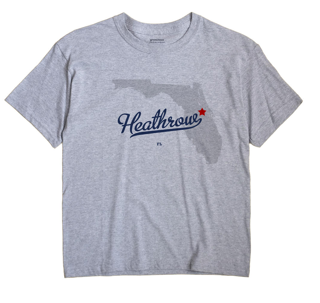 Heathrow, Florida FL Souvenir Shirt