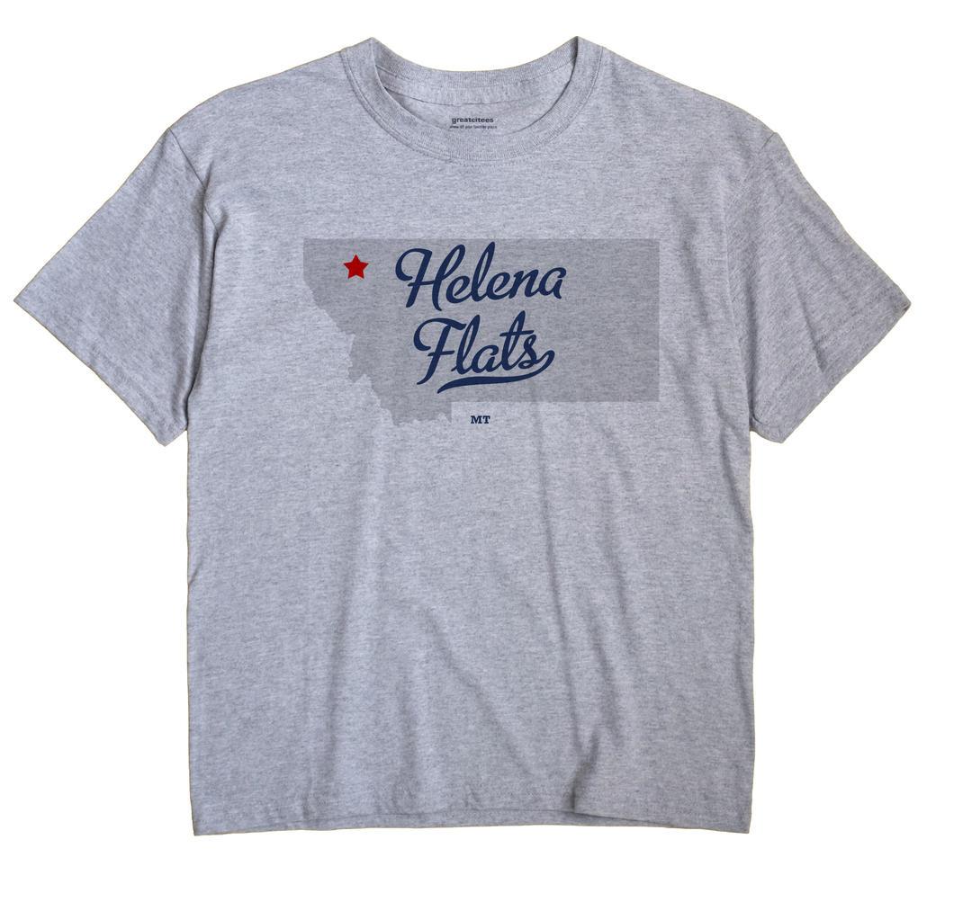 Helena Flats, Montana MT Souvenir Shirt