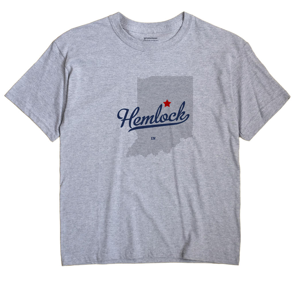 Hemlock, Indiana IN Souvenir Shirt