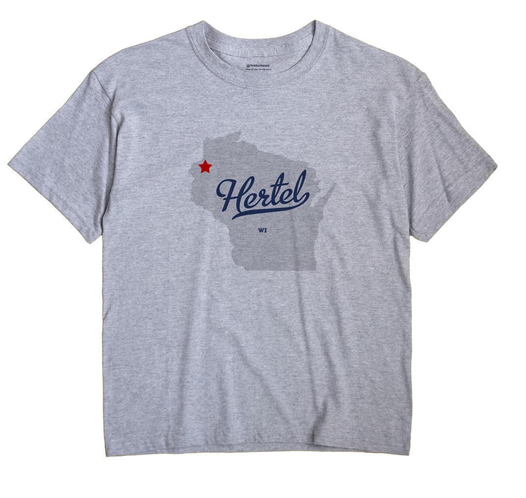 Hertel, Wisconsin WI Souvenir Shirt