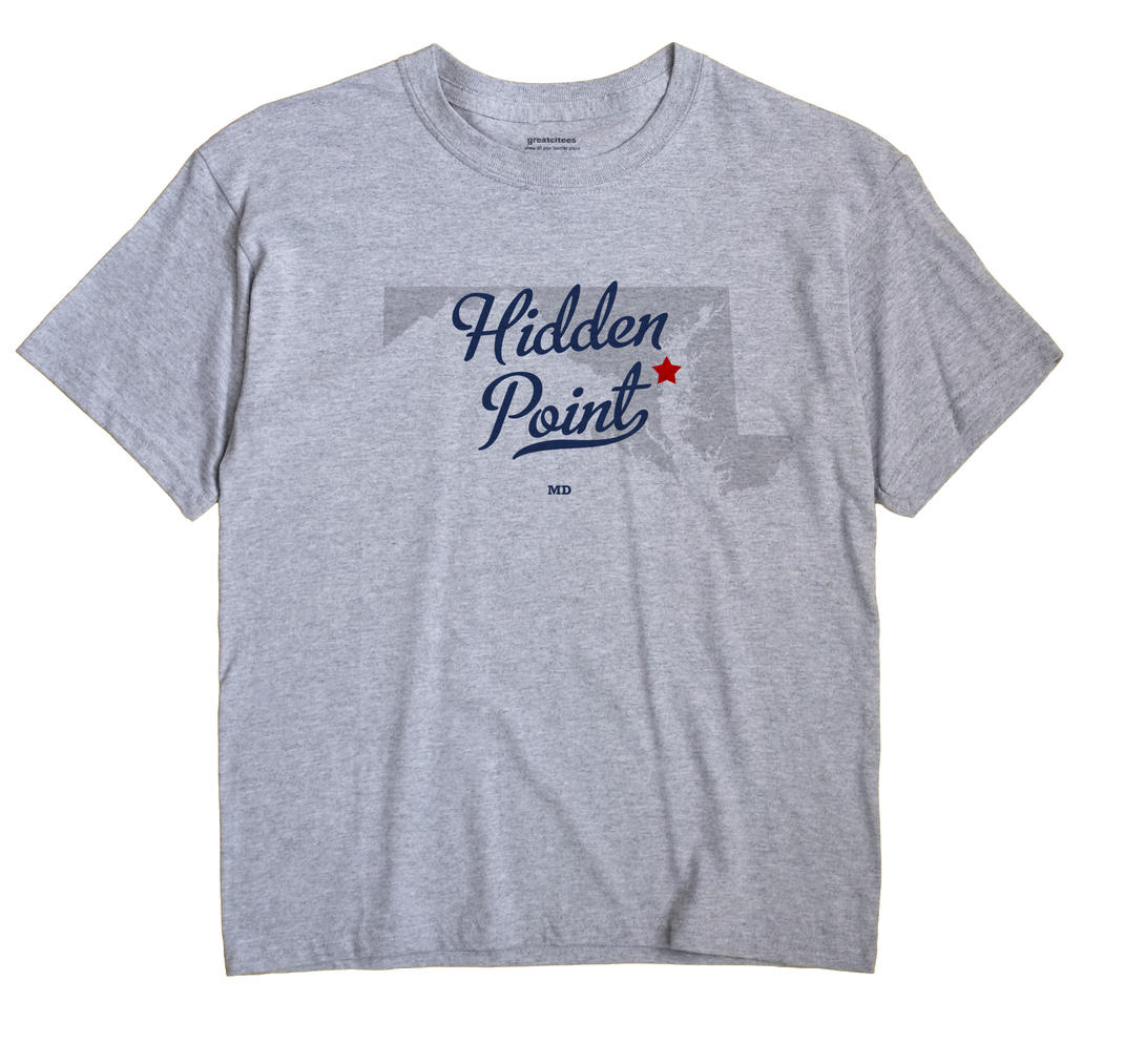Hidden Point, Maryland MD Souvenir Shirt