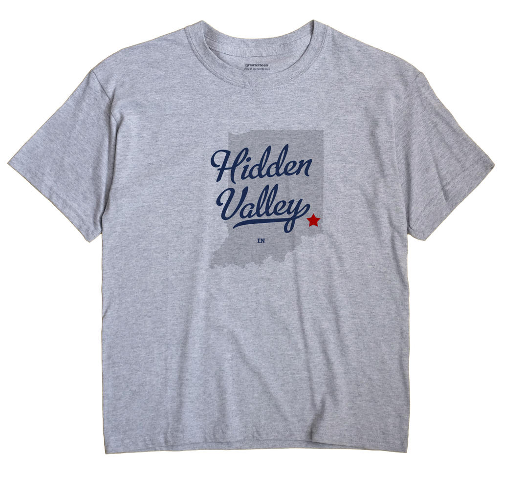 Hidden Valley, Indiana IN Souvenir Shirt