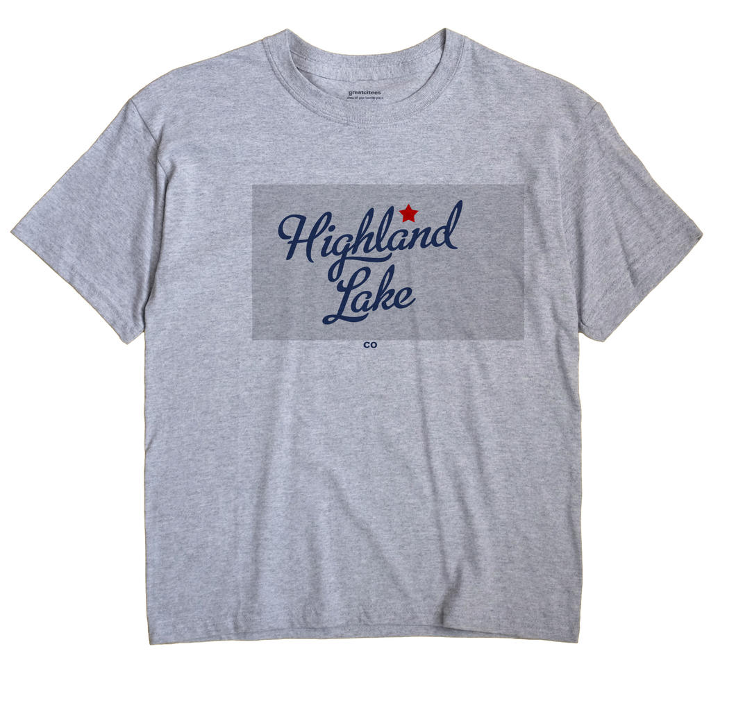 Highland Lake, Colorado CO Souvenir Shirt
