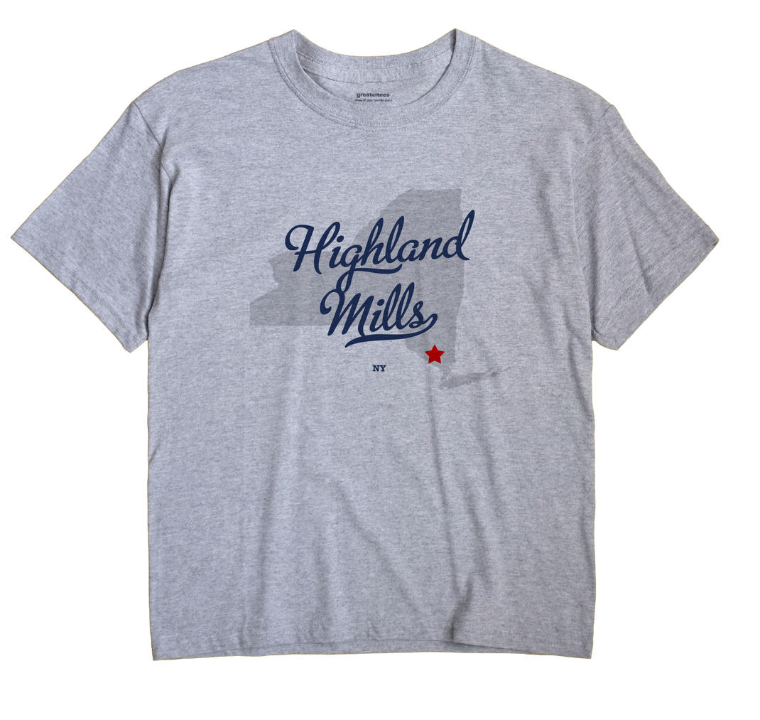 Highland Mills, New York NY Souvenir Shirt