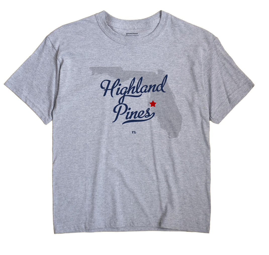 Highland Pines, Florida FL Souvenir Shirt
