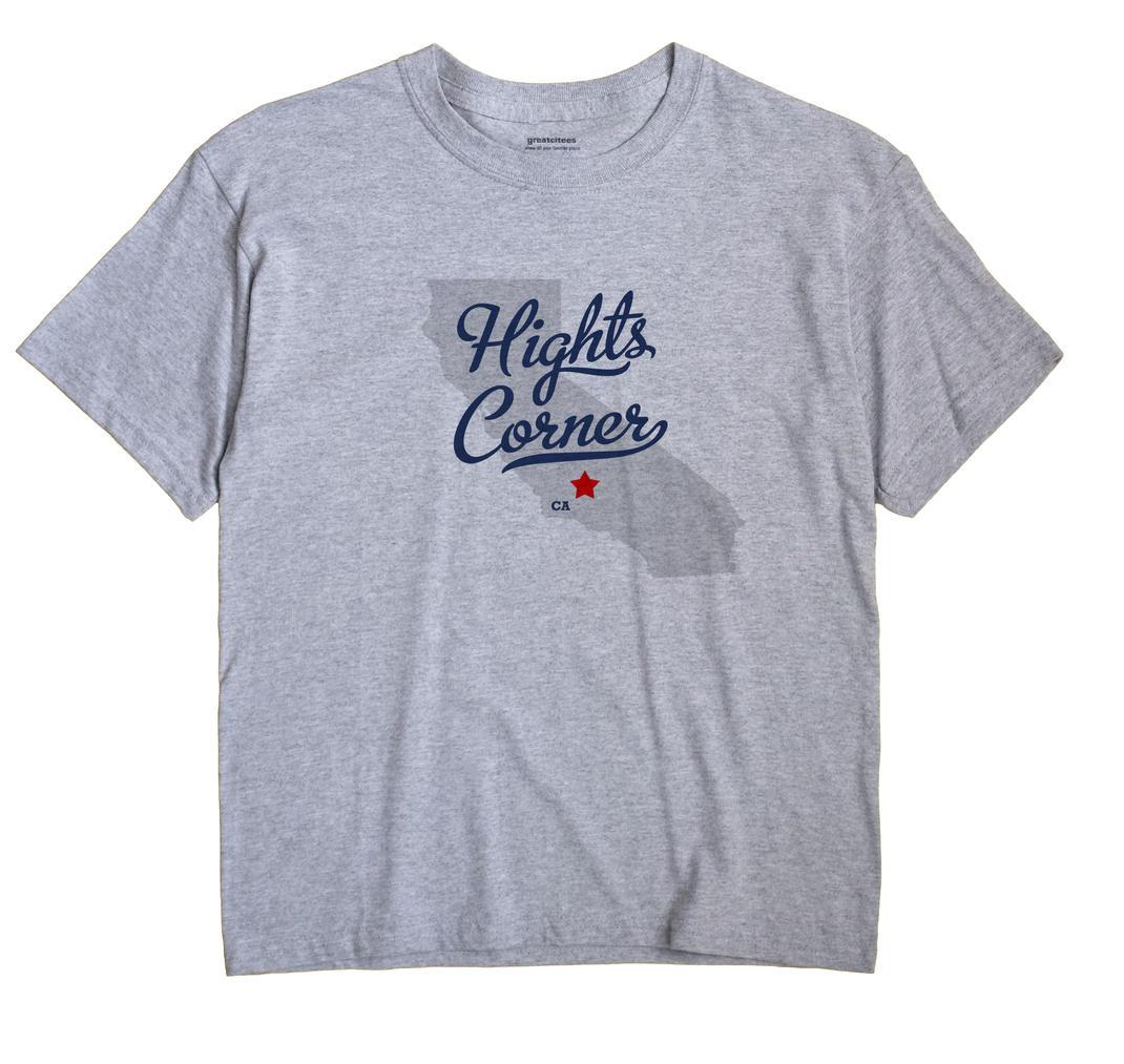 Hights Corner, California CA Souvenir Shirt