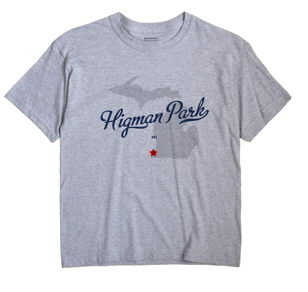 Higman Park, Michigan MI Souvenir Shirt