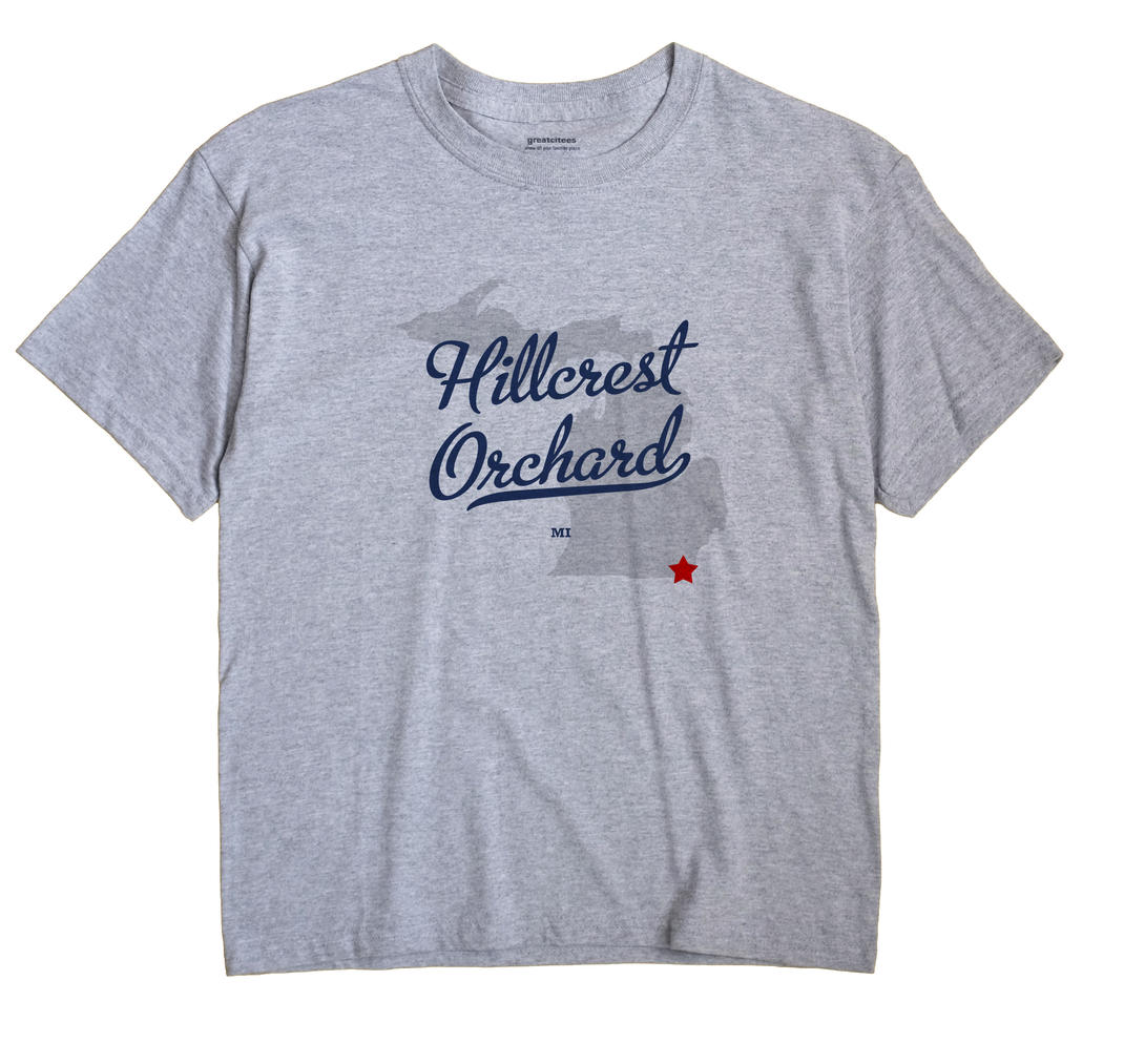 Hillcrest Orchard, Michigan MI Souvenir Shirt