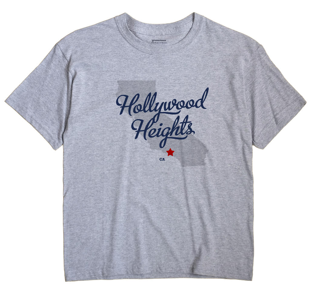 Hollywood Heights, California CA Souvenir Shirt