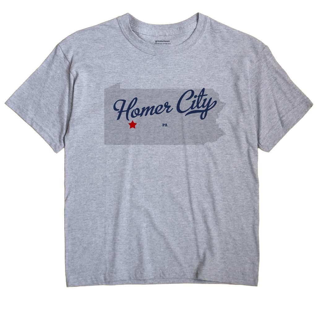 Homer City, Pennsylvania PA Souvenir Shirt