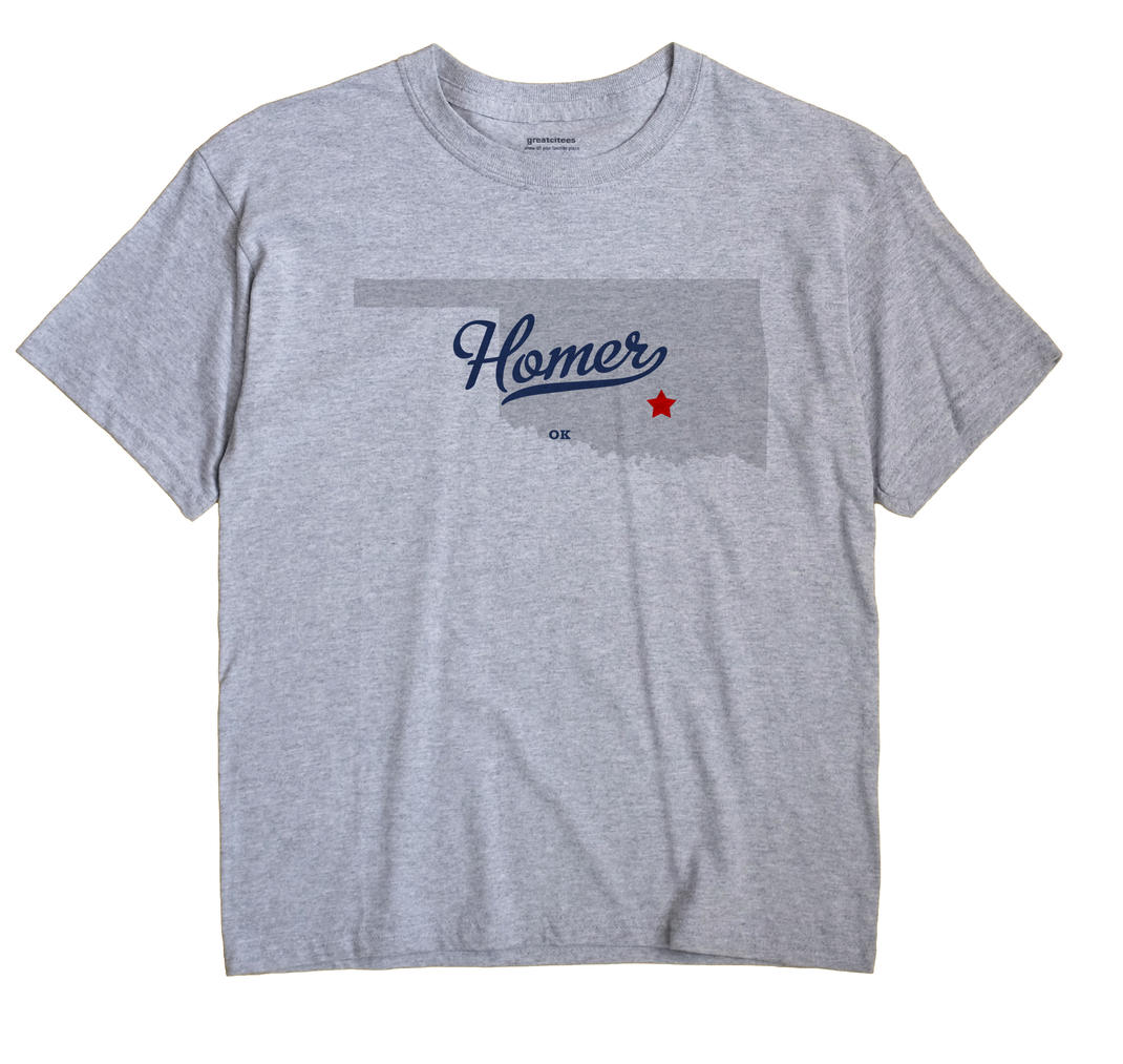 Homer, Oklahoma OK Souvenir Shirt
