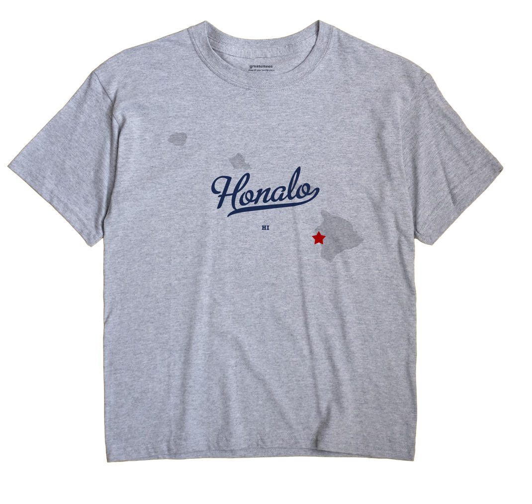Honalo, Hawaii HI Souvenir Shirt