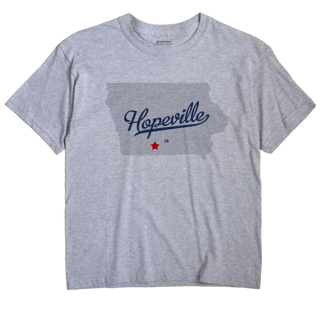 Hopeville, Iowa IA Souvenir Shirt