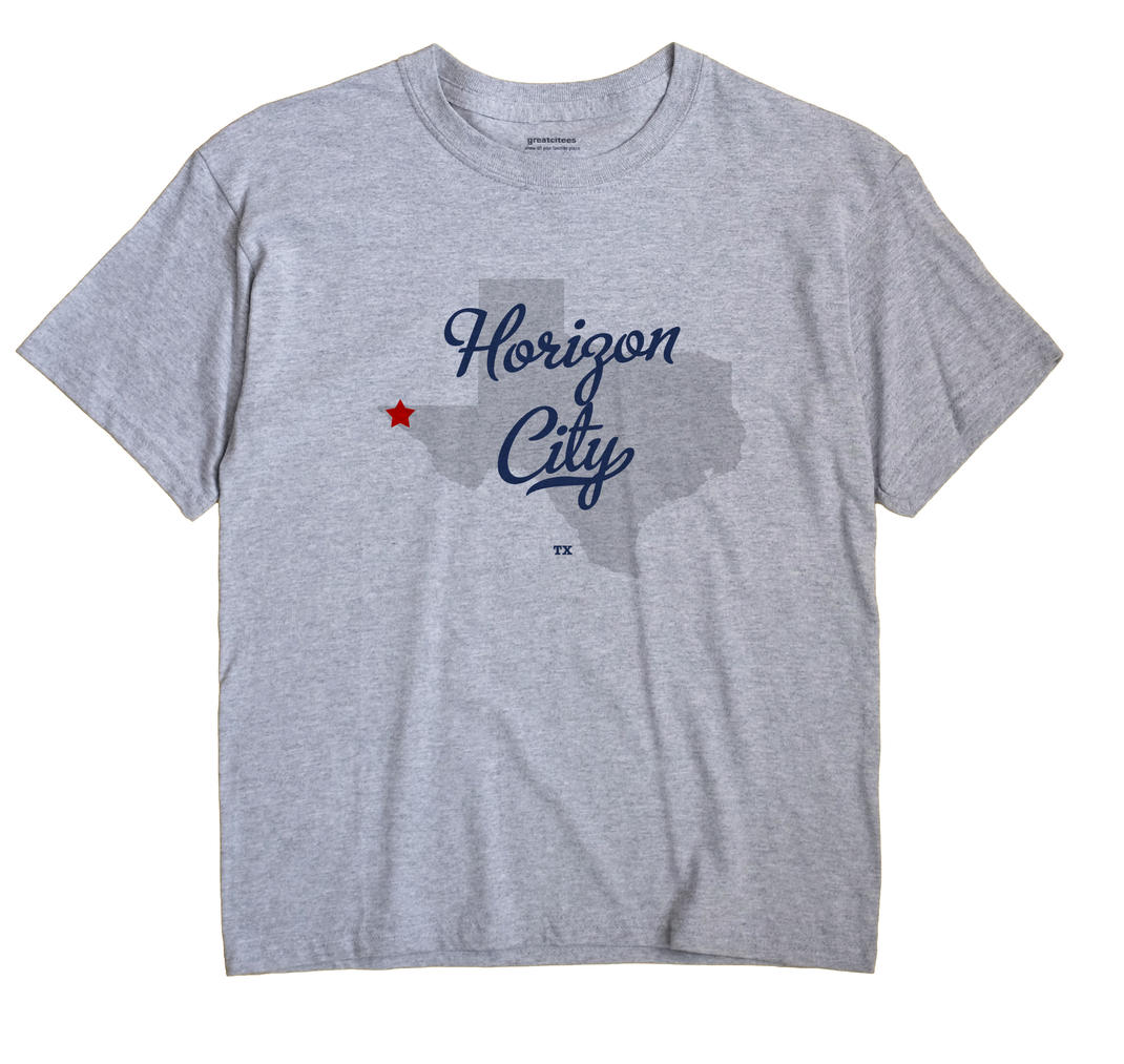 Horizon City, Texas TX Souvenir Shirt