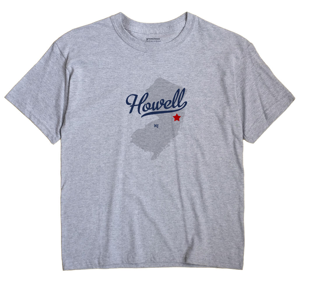 Howell, New Jersey NJ Souvenir Shirt
