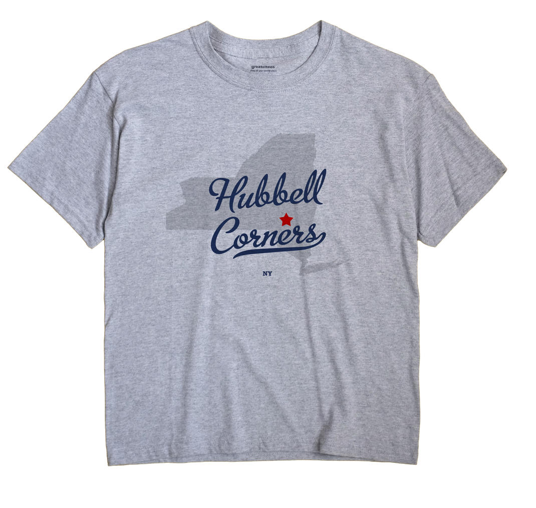 Hubbell Corners, New York NY Souvenir Shirt