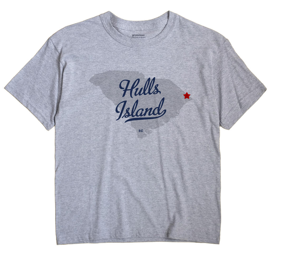 Hulls Island, South Carolina SC Souvenir Shirt