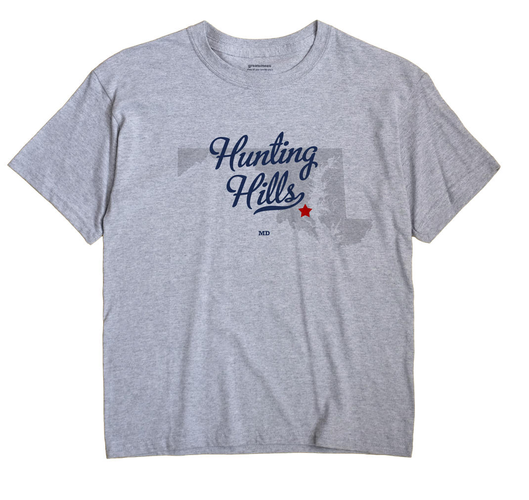 Hunting Hills, Maryland MD Souvenir Shirt