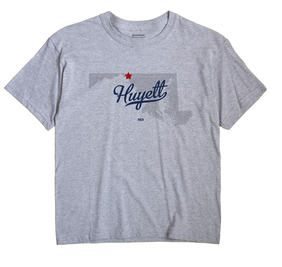 Huyett, Maryland MD Souvenir Shirt