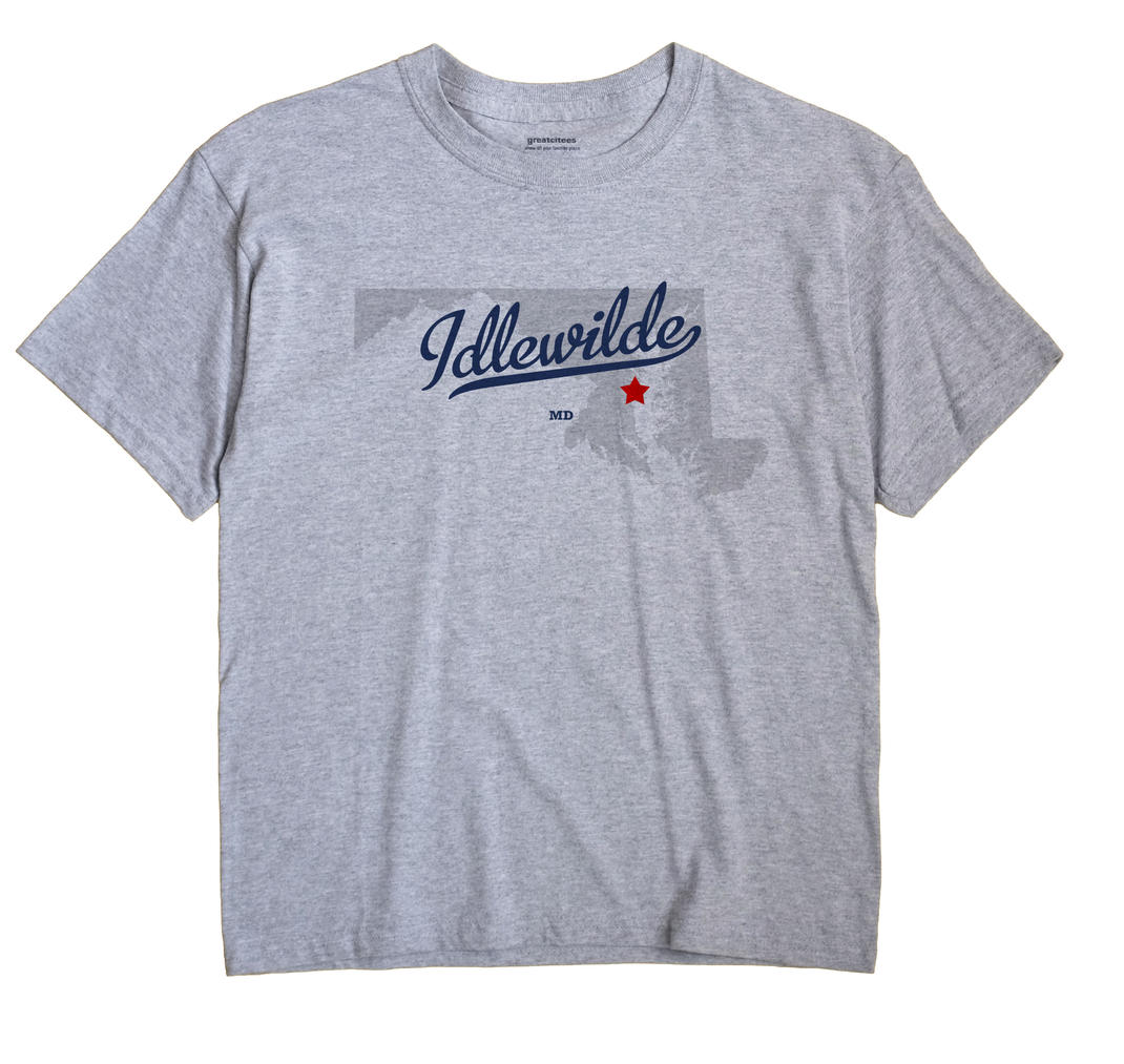 Idlewilde, Maryland MD Souvenir Shirt