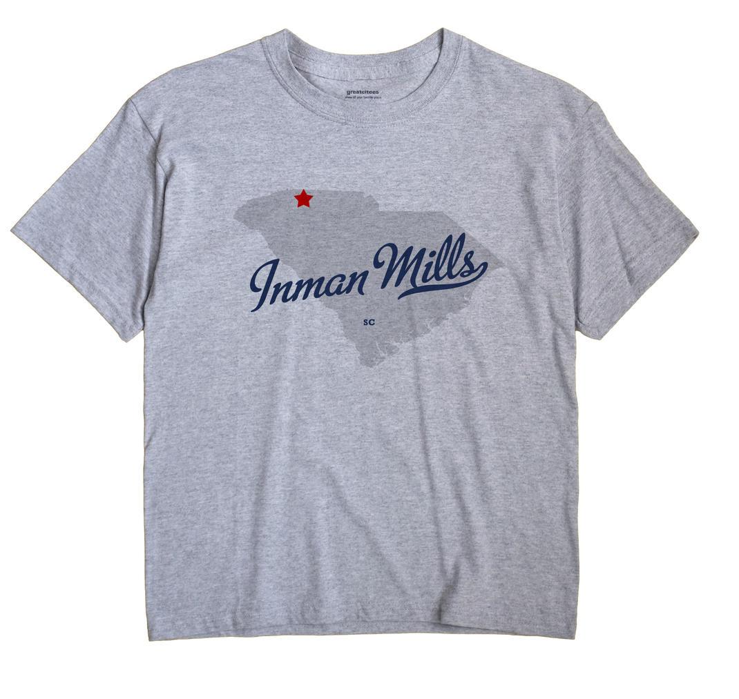 Inman Mills, South Carolina SC Souvenir Shirt
