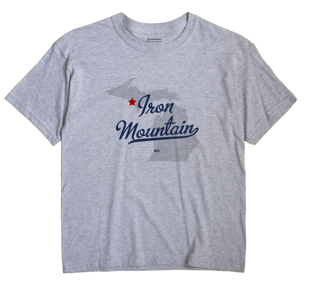 Iron Mountain, Michigan MI Souvenir Shirt