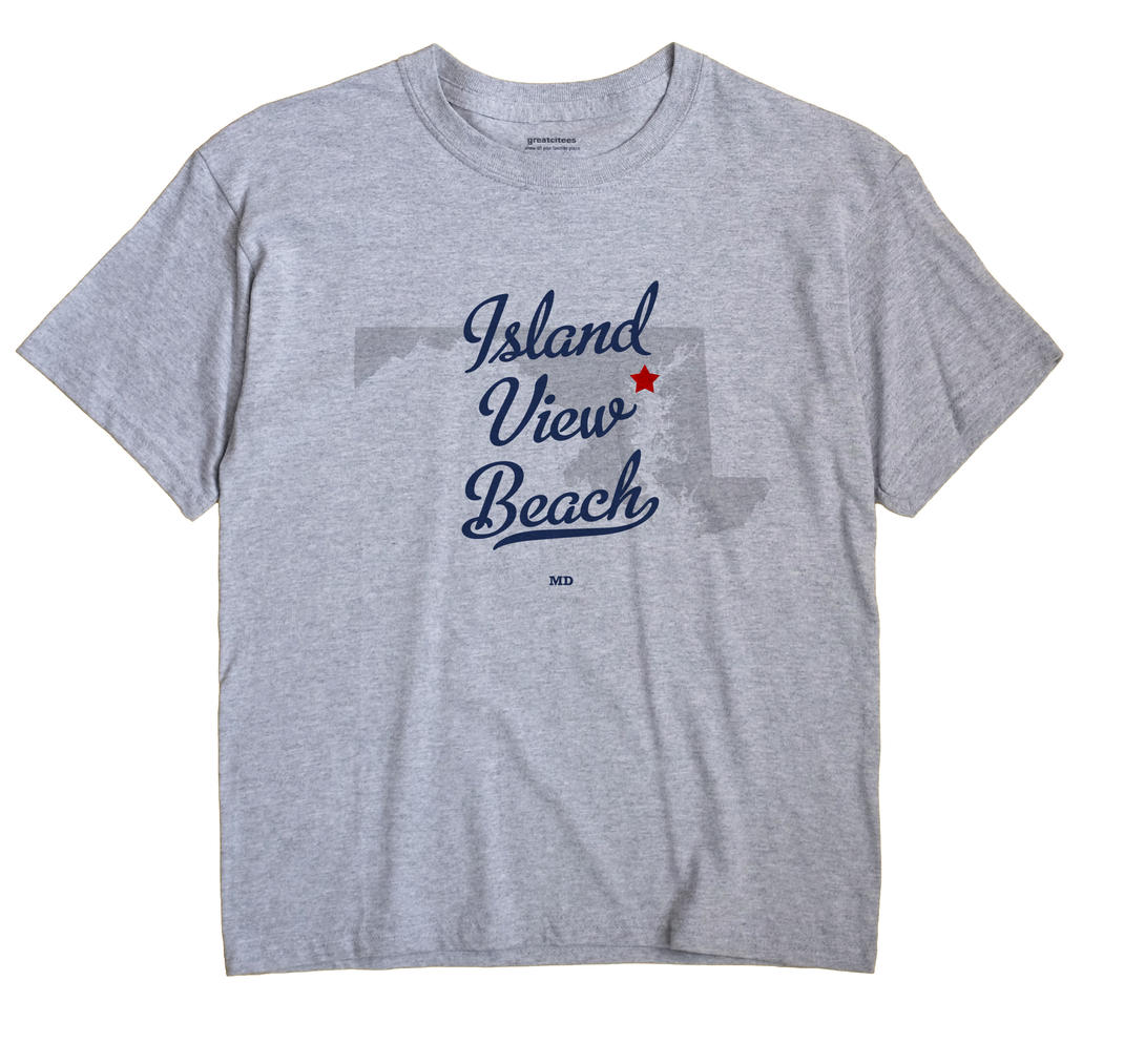 Island View Beach, Maryland MD Souvenir Shirt