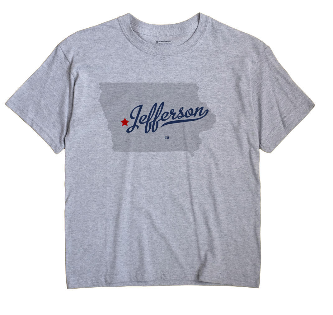 Jefferson, Shelby County, Iowa IA Souvenir Shirt