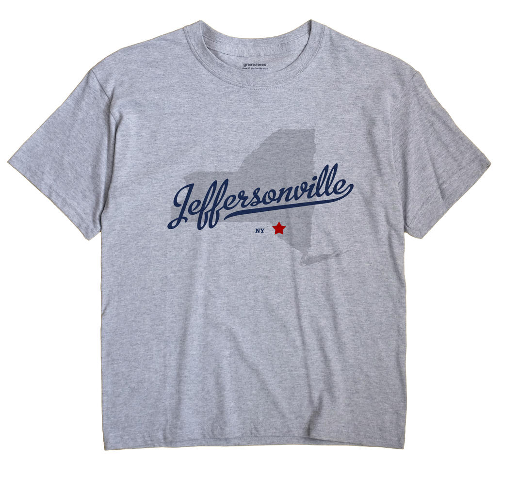 Jeffersonville, New York NY Souvenir Shirt