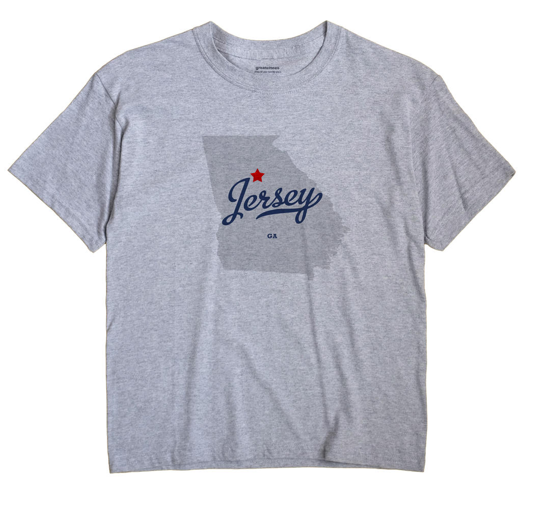 Jersey, Georgia GA Souvenir Shirt